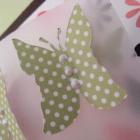 Tutorial Tuesday: 3-D Butterfly Card