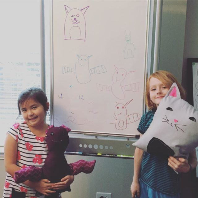 Meet Beatrix the bat and Polly the cat creations ofhellip