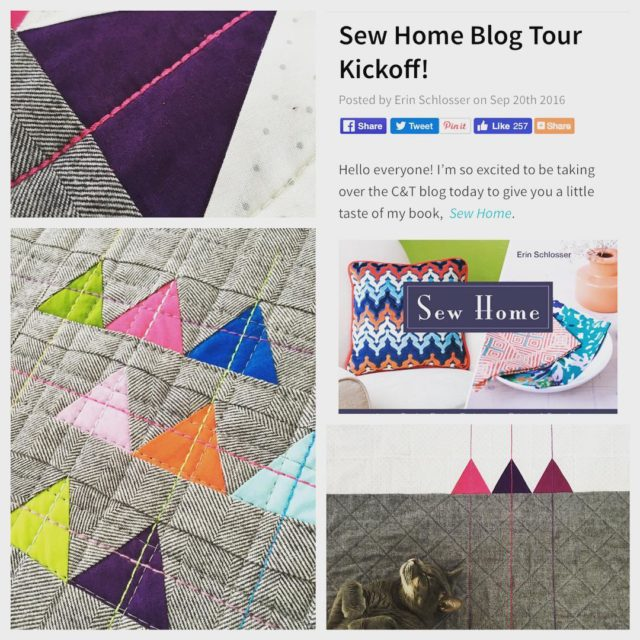 And were off! My blog tour for sewhome has begun!!hellip