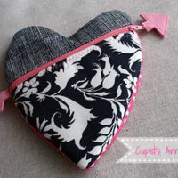 Tutorial Tuesday: Cupid's Arrow Heart Pouch