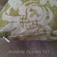 Tutorial Tuesday: Throw Pillow with Invisible Zipper