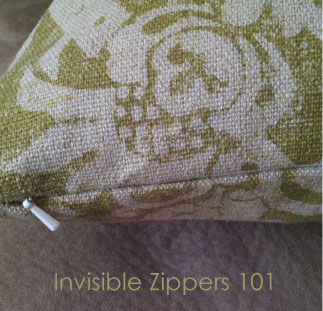 Tutorial Tuesday: Throw Pillow with Invisible Zipper - Schlosser