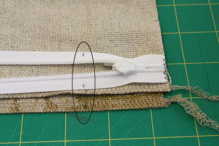 To make sure that we\u0027re sewing on the zipper to the right spot on both your front and back pillow pieces we\u0027ll draw a couple of marks on both squares and ... & Tutorial Tuesday: Throw Pillow with Invisible Zipper - Schlosser ... pillowsntoast.com