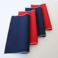 Tutorial Tuesday: Patriotic Foiled Napkins