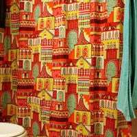 DIY Shower Curtain and Blind Hems