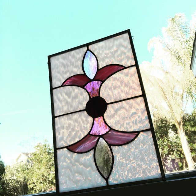 My next stained glass piece got finished this week!