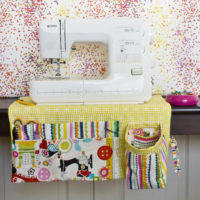Sewing Machine Apron Reveal