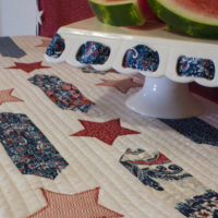 Stars and Stripes Table Setting