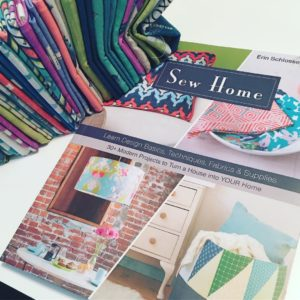Working on a new project from my book! Can't wait to dig into @carriebloomston Dreamer fabric! #sewhome