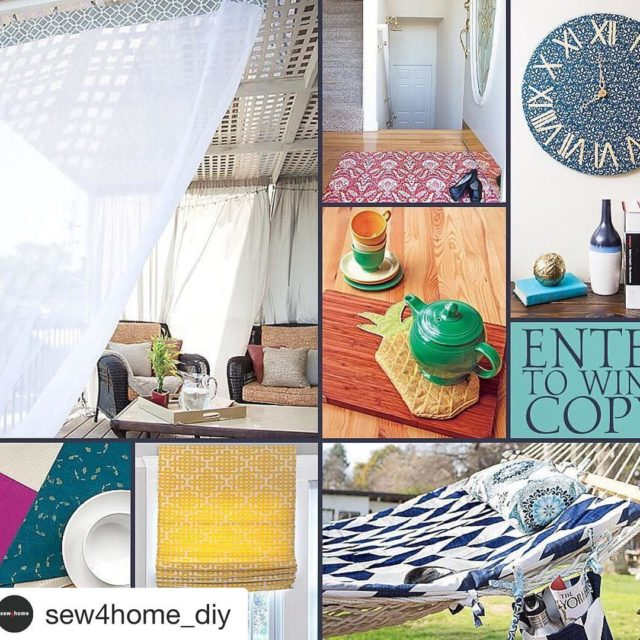 Did you see my fun interview with sew4homediy today? Therehellip