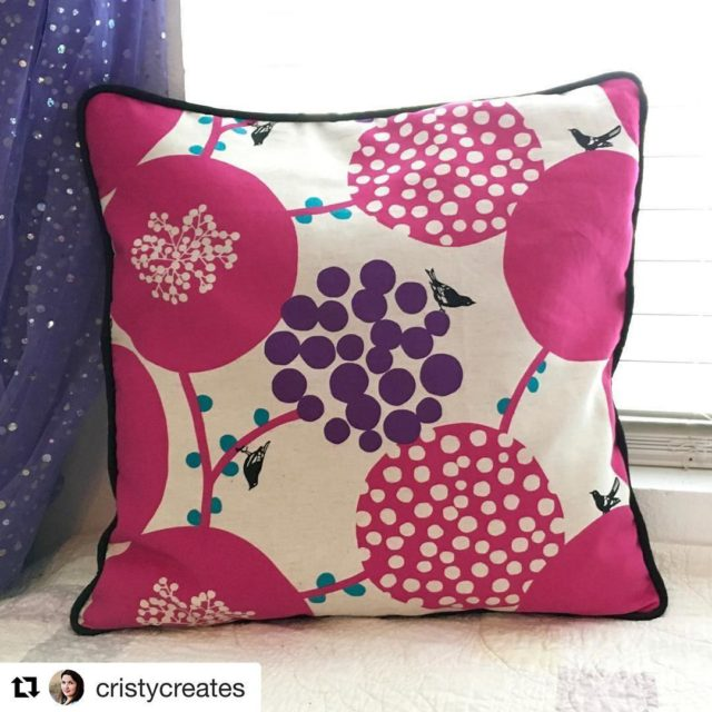 I ?? this pillow cristycreates made with instructions from myhellip