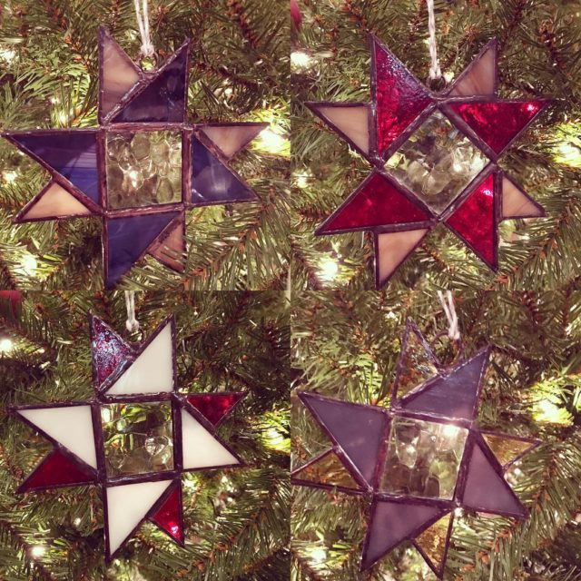 Made a few ornaments in my spare time Love workinghellip