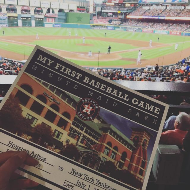 Did your know that if its your first Astros gamehellip